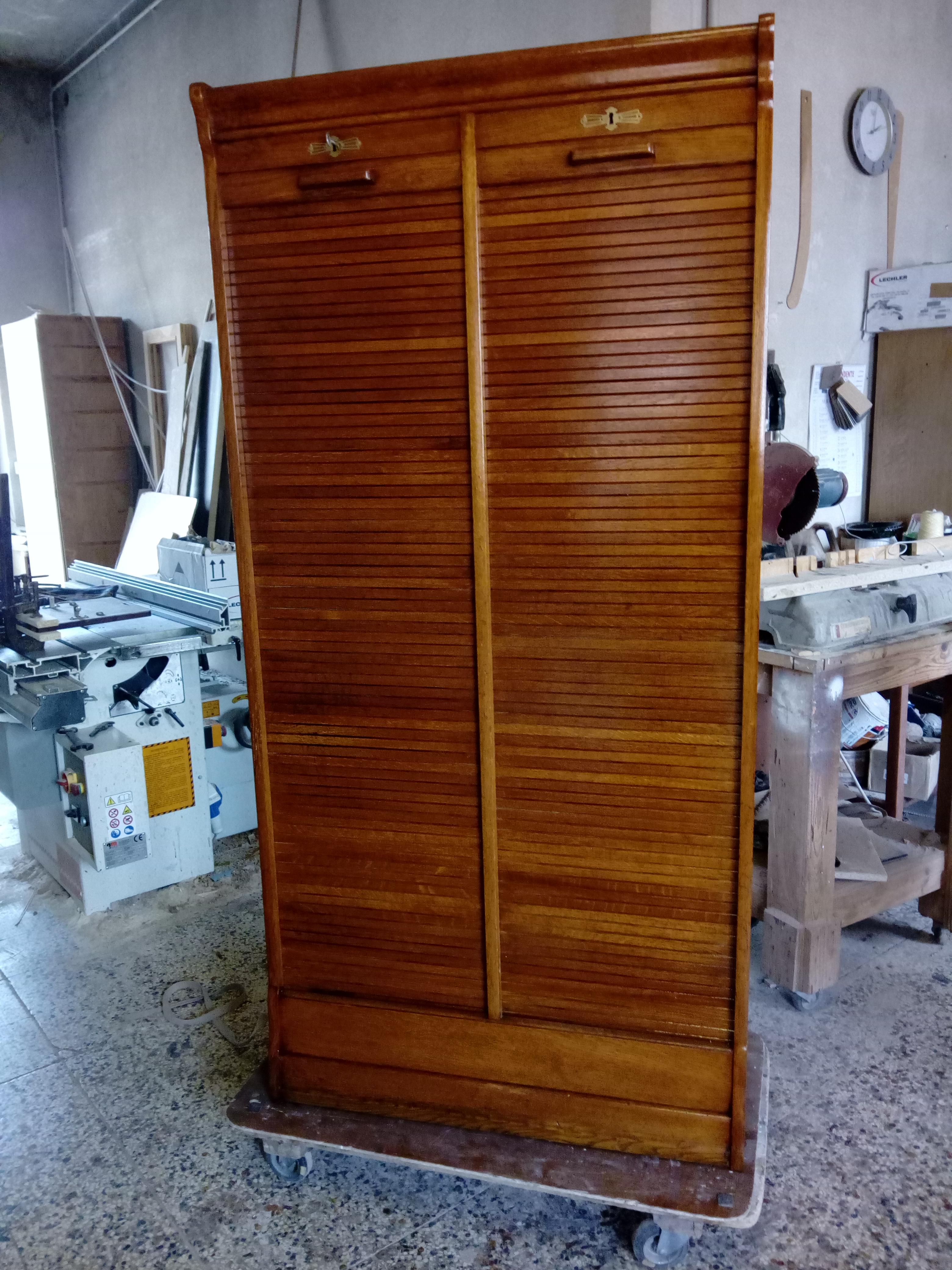 Ante A Tapparella restauro mobili | danilo cazzaniga restauri