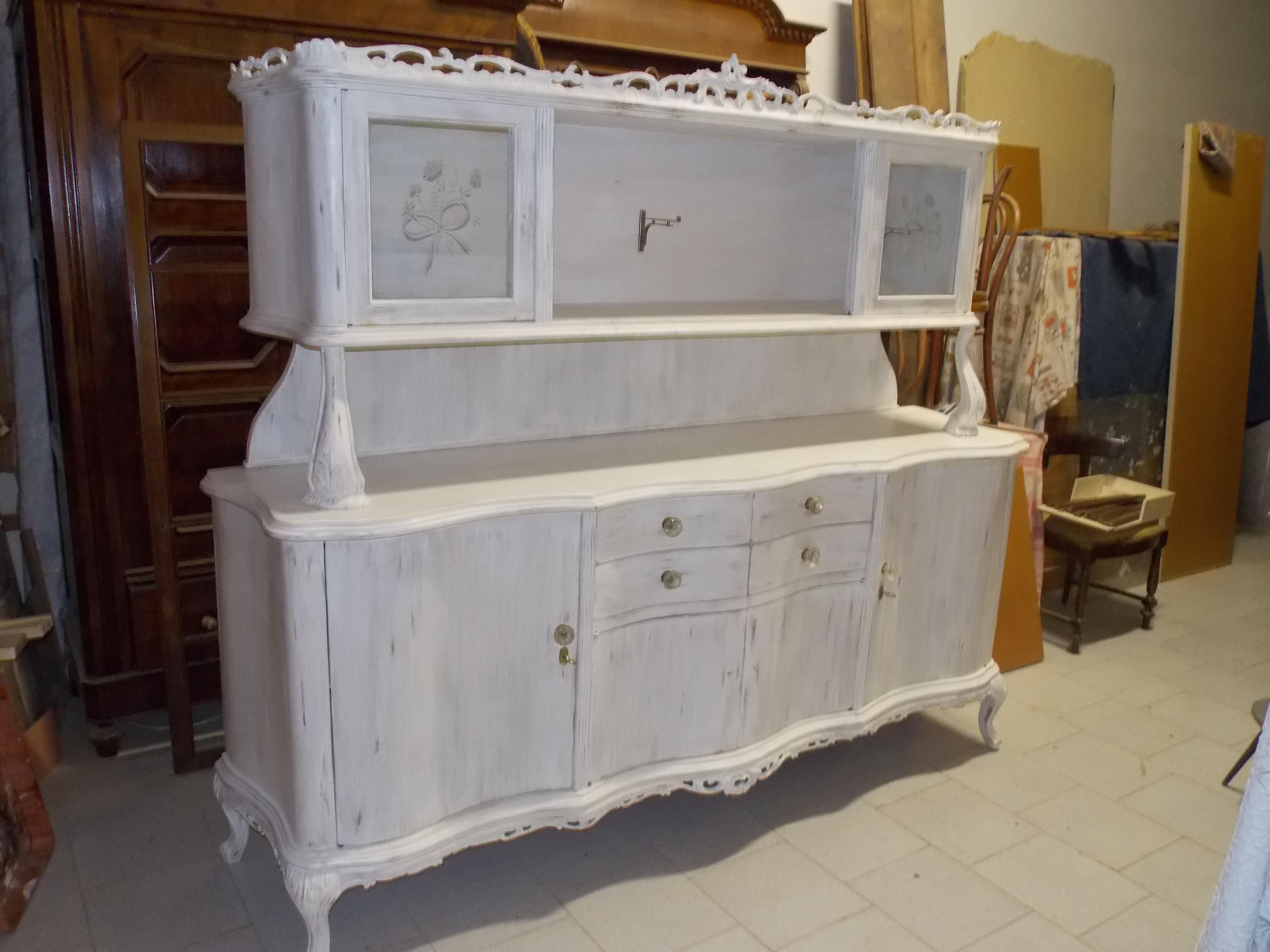 Credenza Legno Da Restaurare : Restauro mobili danilo cazzaniga restauri